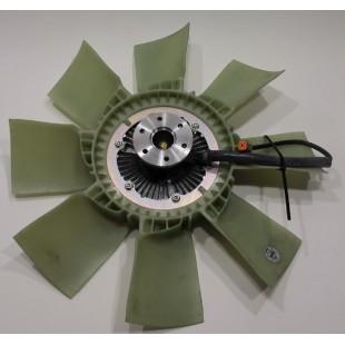 Крыльчатка с вязкомуфтой (ЯМЗ 650,651)